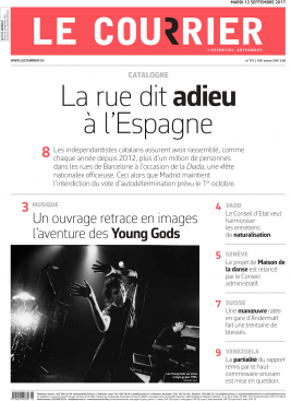 "Vernissage du livre ""The Young Gods / Documents 1985-2015"""