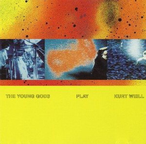 Play Kurt Weill album cover, April 1991